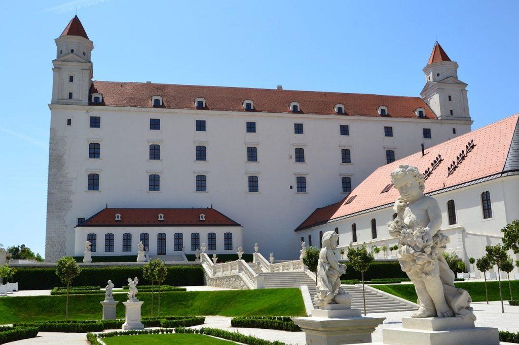 'Hrad' or Castle in Bratislava.