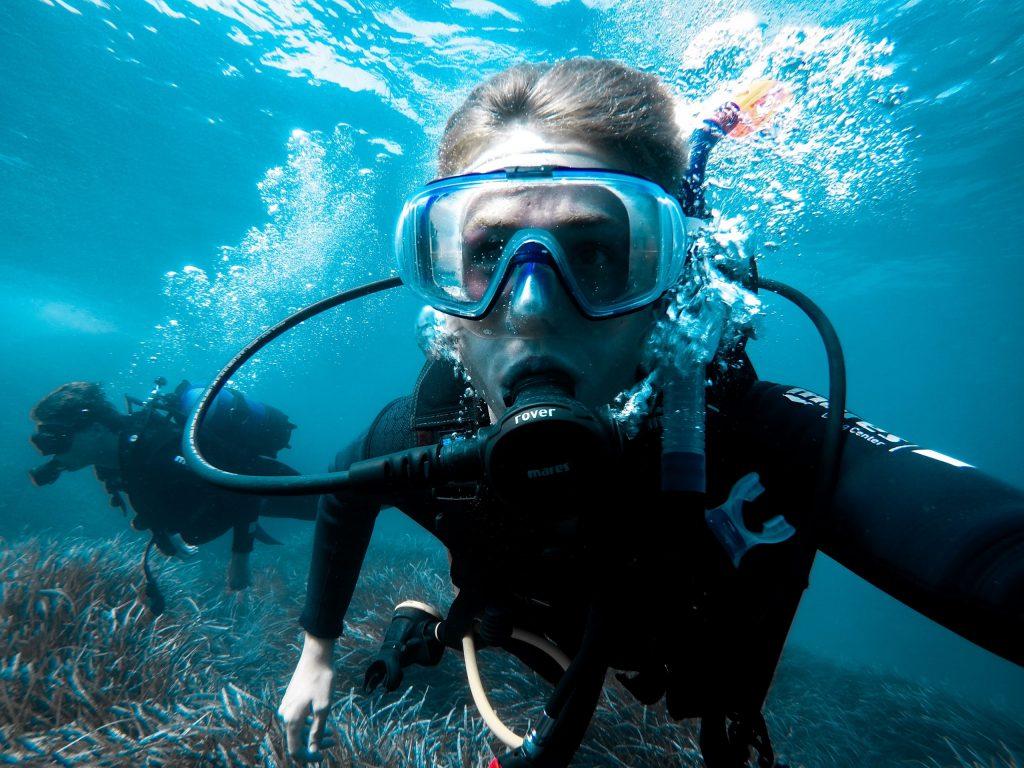 Scuba Diving, Phi Phi Island, Thailand