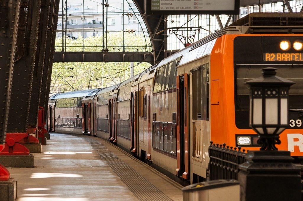 travel in europe by train