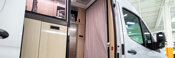How to live in a small space campervan
